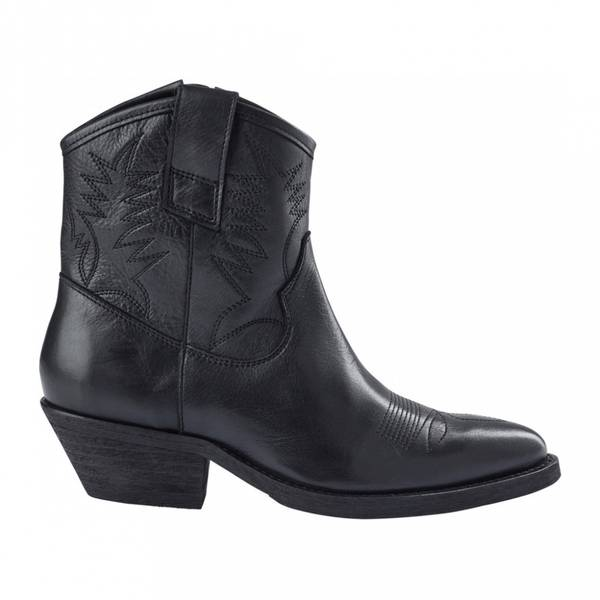 Bilde av Pavement - Raquel Leather Ankel Boots