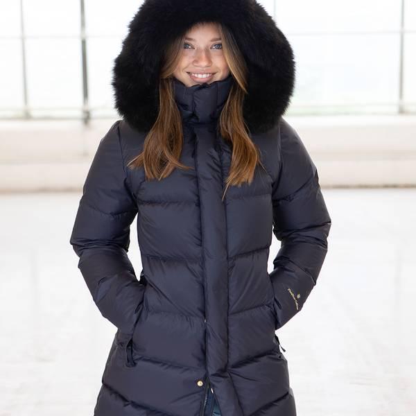 Bilde av Fleischer Couture - Polaris Down Coat Kids Deep